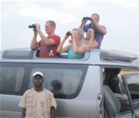 Tour Guide's role is paramount at Albert Safaris